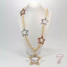 collana oro e stelle, su www.7accessori.it