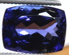 4.85 CTS  AAA QUALITY TANZANITE FACETED GEMSTONE   TBM-848 gemstones