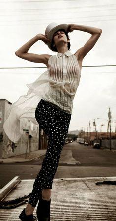 Aymeline Valade on RUSSH | Fashion Photography | Fashion Editorial