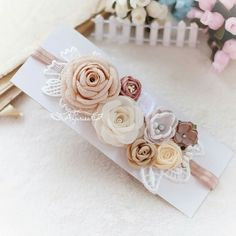 Easy Sewing Projects, Sewing Projects For Beginners, Sewing Tutorials, Flowers In Hair, Fabric Flowers, Bridal Sash, Making Hair Bows, Hairbows, Ballerinas
