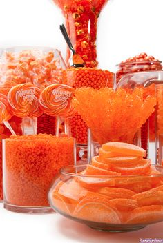 {Orange Candy Buffet | Flickr by candywarehouse}