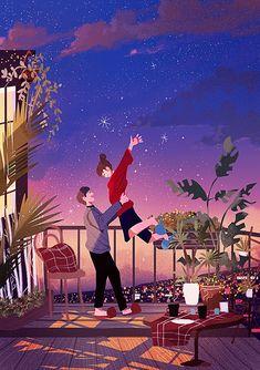 New ideas for drawing couple cartoon Cute Couple Drawings, Cute Couple Art, Cute Drawings, Cute Couples, Love Cartoon Couple, Anime Love Couple, Couple Illustration, Illustration Art, Cover Wattpad