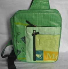 Eco-friendly school bag, handmade by disabled producers group. #fairtrade#handmade#eco-friendly