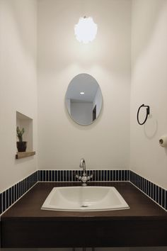 造作洗面台/洗面室/タイル/ヴィンテージ/注文住宅/インテリア/ジャストの家/tile/washstand/lavatory/powderroom/bathroom/vanity/vintage/design/interior/house/homedecor