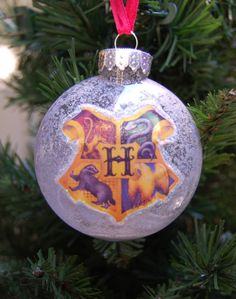 Harry Potter Hogwarts Christmas Tree Ornament
