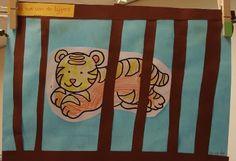 Knutselen: tijger