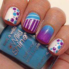 Instagram photo by polishformelissa #nail #nails #nailart