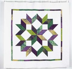 You have to see Carpenter's Star Quilt on Craftsy!