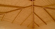 The EZ-Log Victoria has been designed with a unique ceiling structure.