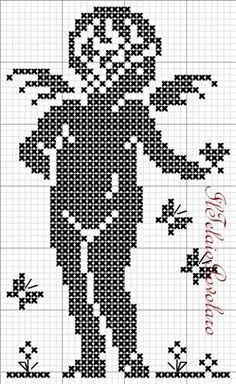 49 ideas embroidery patterns free baby signs for 2019 Cross Stitch Angels, Cross Stitch Heart, Counted Cross Stitch Patterns, Crochet Motif Patterns, Embroidery Patterns Free, Crochet Angels, Cross Stitching, Needlework, Filet Crochet