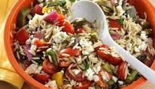 Grilled Vegetable Orzo Salad Recipe | Taste of Home