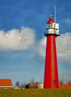 The Lighthouse at Hoek van Holland, the Netherlands