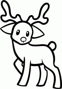 Animals how to draw a moose for kids moose pinterest moose how to draw a reindeer for kids step 6 thecheapjerseys Images