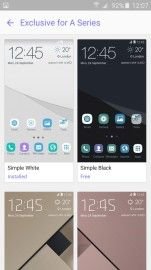 Samsung launches exclusive themes for its new Galaxy A (2016) line-up  With a new phone come new accessoires. And also apparently new themes as Samsung has launched a collection of themes exclusive to itsnew Galaxy A (2016) line-up. Last year Samsung launchedthetheme store for its TouchWiz interface together with the Galaxy S6. Since then more and more devices have launched with this feature though some low-end models were denied the option. Nowthe recently launched 2016 Galaxy A phones are…