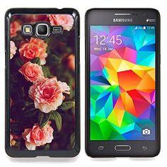 For Samsung Galaxy Grand Prime G530H G5308 - Orange Roses Pink White Bush Garden Case Cover Protection Design Ultra Slim Snap on Hard Plastic - God Garden -, http://www.amazon.ca/dp/B01C0G6G7W/ref=cm_sw_r_pi_awdl_nWgbxbDZ1T3G6
