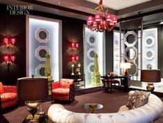Living Room in Wilhelmina's NYC Apartment