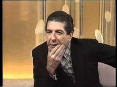 "Leonard Cohen Interview: April 1985 Mixed Bag with Pete Fornatale (WNEW-FM, NYC) Part 1 – Selected Contents Leonard Cohen's persona as a stranger. Leonard Cohen on Songwriting: ""I never Continue Reading → Sound Of Music, Music Love, Good Music, My Music, Kinds Of Music, Leonard Cohen, Adam Cohen, Lets Play Music, Dance Music Videos"