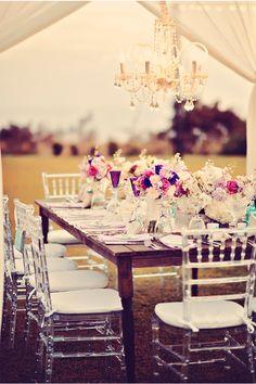 Beautiful Table / Tamiz Photography / Maui Real Wedding / via StyleUnveiled.com
