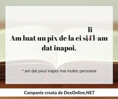 Tu folosesti intotdeauna forma corecta in contextul potrivit? http://dexonline.net/definitie-livret …