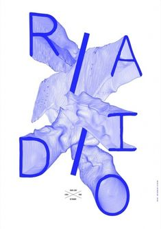 Metronomy: Radio Ladio, poster designed by Côme de Bouchony – Type Only Unit Editions Web Design, Type Design, Layout Design, Print Design, Logo Design, Graphic Design Posters, Graphic Design Typography, Graphic Design Inspiration, Freelance Graphic Design