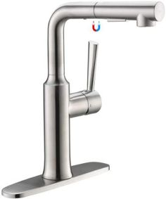 Best Kitchen Faucets Under $100 of 2020 | SupremeProductReview Bar Sink Faucet, Brass Faucet, Modern Pot Fillers, Pot Filler Faucet, Best Kitchen Faucets, Double Bowl Sink, Delta Faucets, Washing Dishes, Stainless Steel Kitchen