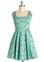 Very Berry Charming Dress in Cranberries | Mod Retro Vintage Dresses | ModCloth.com
