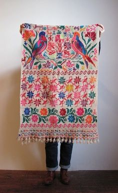 textiles - to see more visit www.mainlymexican... #Mexico #Mexican #textile #embroidery #woven