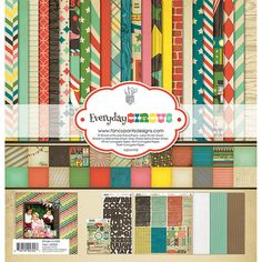 I have studied the history of the B&B Circus over the years so this is a MUST have! Fancy Pants Designs Everyday Circus 12 x 12 Collection Kit