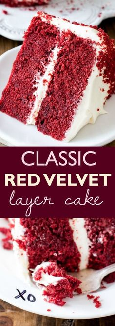 Learn all my tricks and tips to perfecting this classic red velvet cake recipe at home! Found on sallysbakingaddiction.com