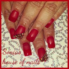 Matte nails @ soniashouseofnails