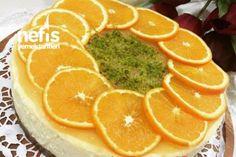 Portakallı Cheescake (garanti Tarif) #portakallıcheesecake #kektarifleri #nefisyemektarifleri #yemektarifleri #tarifsunum #lezzetlitarifler #lezzet #sunum #sunumönemlidir #tarif #yemek #food #yummy