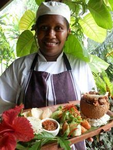 Port Vila Restaurant, Vila Chaumieres offers a peaceful retreat, excellent restaurant, resort, overlooking the Erakor Lagoon Fiji Food, Fiji Culture, Fly To Fiji, Visit Fiji, Fiji Beach, French Restaurants, Root Vegetables, Vanuatu, Yams