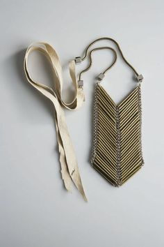 chevron necklace.