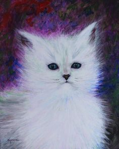 Fluffy Painting - Fluffy by Kume Bryant