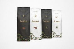 Kava Premium Coffee on Packaging of the World - Creative Package Design Gallery