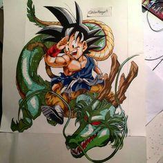 Dragon Ball   Sangoku & Shenron
