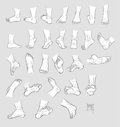 foot reference
