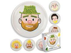 Assiettes enfants foodface decoclico