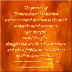 Increase creativity, productivity and success by harnessing the power of nature. Widen the pipeline to the ocean of creativity and intelligence at the source of thought, the source of everything inside you—Transcendental Meditation® makes this easy and enjoyable :) Check TM® out here now: https://www.facebook.com/TM.UK.Women