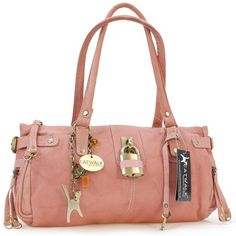 07ca864f5b7 Catwalk Collection Leather Padlock Handbag - Chancery - Tan  Amazon.co.uk