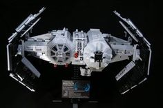 of the best custom LEGO Star Wars creations featured on The Brothers Brick Star Wars Set, Lego Star Wars, Lego Spaceship, Lego Worlds, Transformers Toys, Star Wars Humor, Lego Sets, Legos, Cool Toys