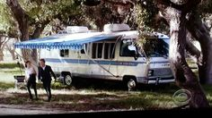 Airstream on The Mentalist | the mentalist | Pinterest