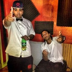 Kevin Gates and Percy Keith
