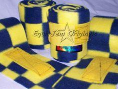 Blue/Yellow Checks