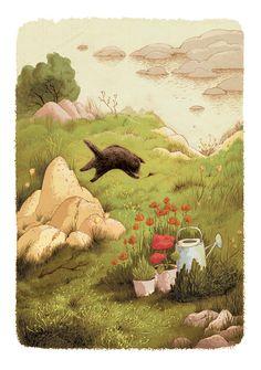 The Summer Book by Alena Tkach, via Behance https://www.behance.net/gallery/17385073/The-Summer-Book