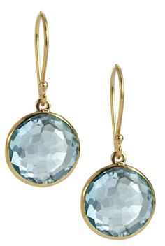 #blue topaz drop earrings http://rstyle.me/~1MBIH