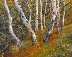 Birch Trees by Jeremy Mayes