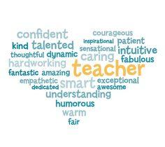 Thank you! Teacher Appreciation message. | Teacher Quotes ...