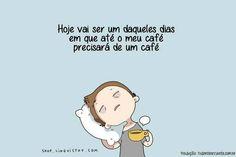 #café #preguiça