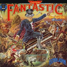 Elton John - LP - Captain Fantastic and the Brown Dirt Cowboy - 1975
